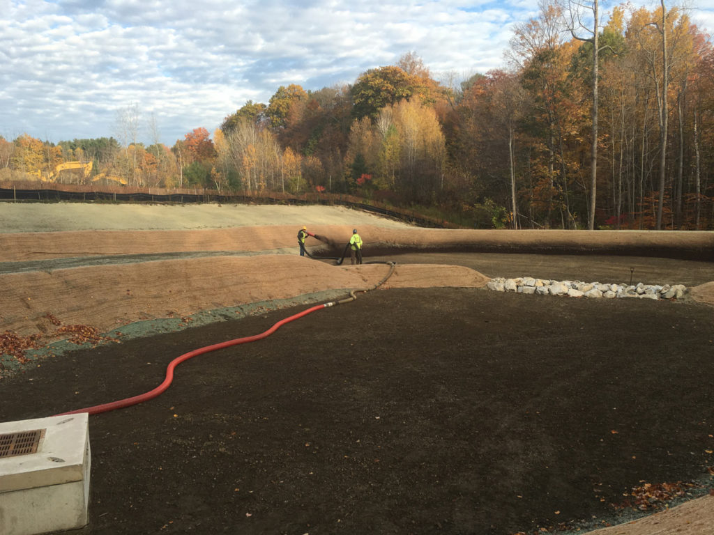 Hydro Seeding Medeiros Hydroseeding Landscaping